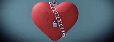 Valentines Day Heart Love Lock Chain Cover Photo