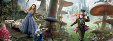 Alice In Wonderland Movie Cover Photo