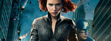 Black Widow In The Avengers Cover Photo
