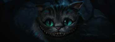 Cheshire Cat Alice In Wonderland Cover Photo