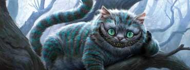 Cheshire Cat Artwork Alice In Wonderland Cover Photo