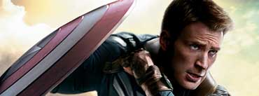 Chris Evans Captain America Winter Soldier Cover Photo