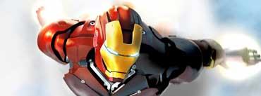 Iron Man In Flight Cover Photo
