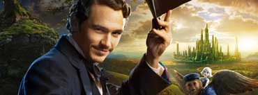 James Franco As Oscar Diggs Oz The Great And Powerful Cover Photo
