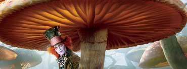 Mad Hatter Alice In Wonderland Cover Photo