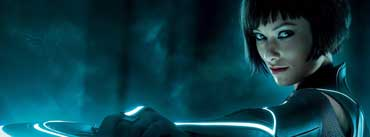 Olivia Wilde In Tron Cover Photo