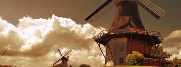 Windmills In The Netherlands Cover Photo