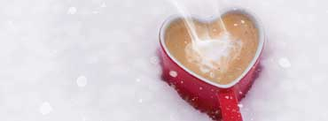 Christmas Heart Coffee Cover Photo