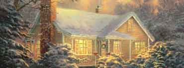Christmas Cottage Cover Photo