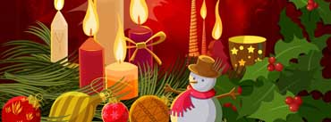 Christmas Snowman Candles Cover Photo