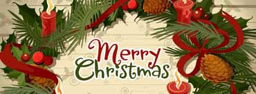 Christmas Wreath Vector Cover Photo
