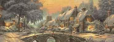 Classic Christmas Painting Cover Photo