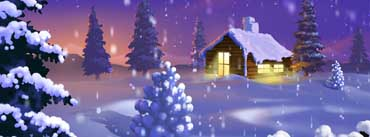 Classic Winter Scene Painting Cover Photo