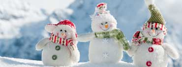 Happy Snowmen Cover Photo