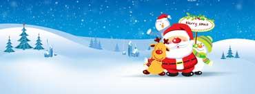 Santa Friends Cover Photo