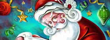 Hohoho Santa Claus Cover Photo
