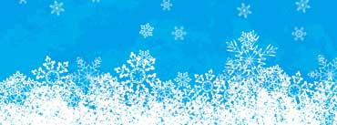 Snowflakes Background Cover Photo