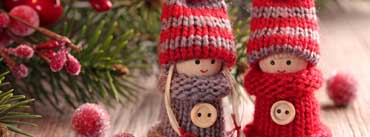 Cute Winter Dolls Cover Photo