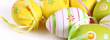 Colorful Easter Eggs Cover Photo
