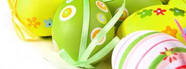 Cute Easter Eggs Cover Photo