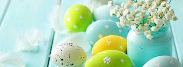 Blue Easter Eggs Cover Photo