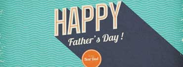 Happy Fathers Day Vintage Card Cover Photo