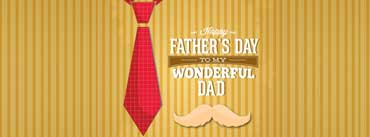 Fathers Day Red Tie Cover Photo