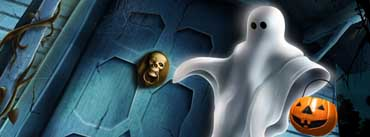 Halloween Ghost Cover Photo