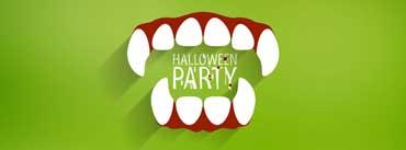 Halloween Party Vampire Teeth Cover Photo