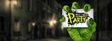 Halloween Party Monster Hand Cover Photo