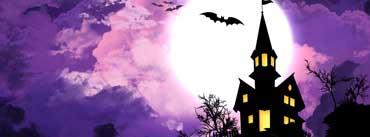 Spooky Halloween Castle Cover Photo