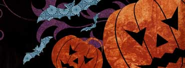 Spooky Halloween Background Cover Photo