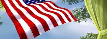 Flag Of The United States Independence Day Cover Photo