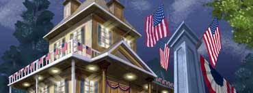 Patriotic House Cover Photo