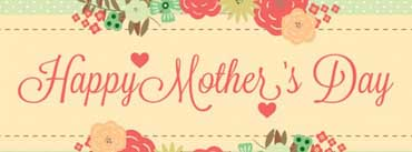 Vintage Happy Mothers Day Card Cover Photo