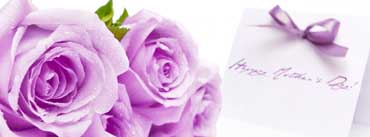 Mothers Day Purple Roses Cover Photo