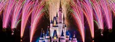 Fireworks Over Cinderella Castle Cover Photo