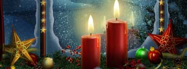 Lighted Candles Cover Photo