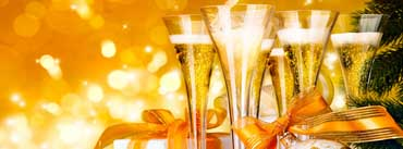 New Year Champagne Cover Photo