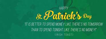 St Patricks Day Quote Cover Photo