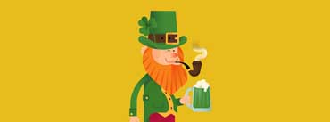 St Patricks Day Leprechaun Cover Photo