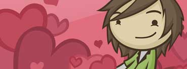 Happy Valentines Day Guy Cover Photo
