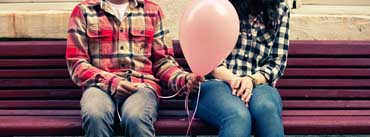 Happy Valentines Day Balloon Cover Photo