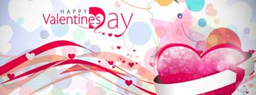 Valentines Day Background Cover Photo