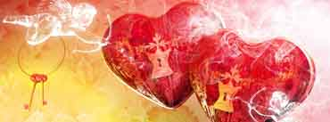 Valentines Day Cupid Cover Photo