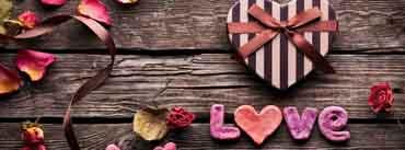 Valentines Day Giftbox Cover Photo