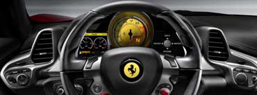 Ferrari Steering Wheel Cover Photo