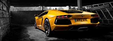 Yellow Lamborghini Cover Photo