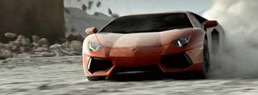 Red Lamborghini Cover Photo
