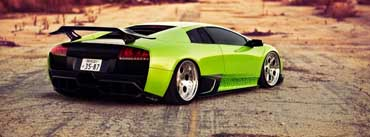 Green Lamborghini Cover Photo